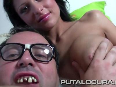 PUTA LOCURA Stunning MILF with amazing tits