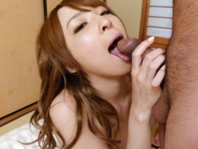 Pretty Hikaru Shiina takes off her gentle lingerie for a great gonzo action