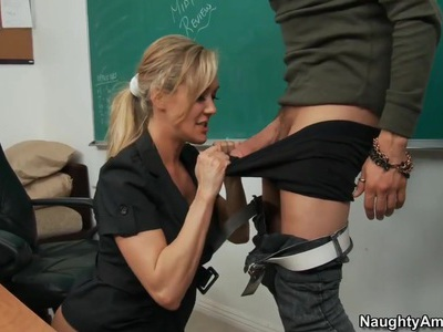 I take full advantage and fuck my teacher