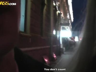 Jocelyn is seen on home video tape