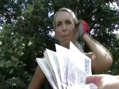 Roller skate girl fucks for money