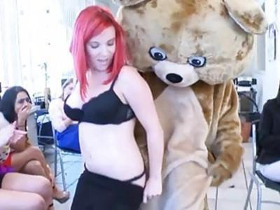 Naughty babes are having pleasure sampling jocks