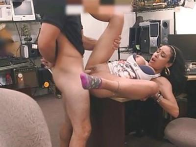 Horny pawnman wants to bang latina girl