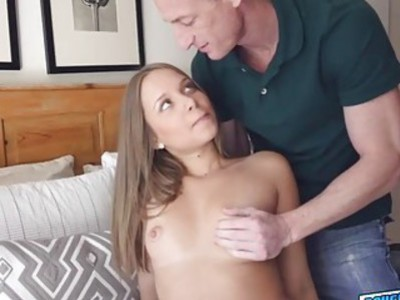 Cutie horny babe Elsa Dream loves a big dick for her pussy
