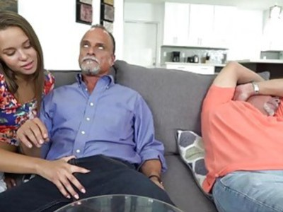Liza Rowe got pounded hard by dad's friend