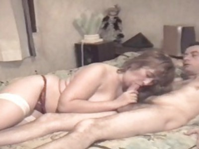 Maryelle Tillie chubby french cougar in stocking banged hard