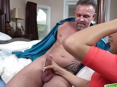 Nicole Bexley swallow daddys big cock