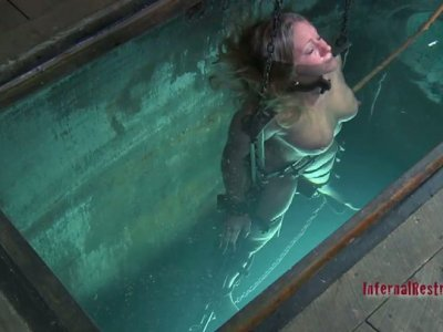 Fire and water - everything for BDSM game with Dia Zerva