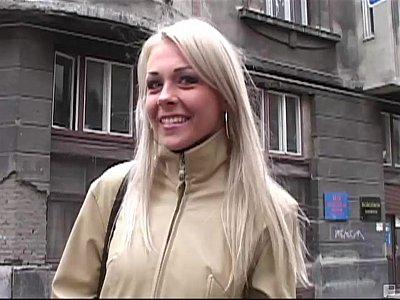 Euro blondie takes two