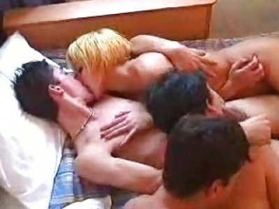 This kinky Portuguese family enjoys having sex all day long