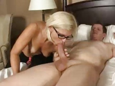 Milf Wakes Up Daughters Husband For A Blowjob