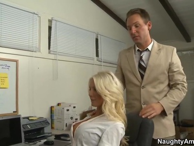 Whose big tits will fill the position of secretary