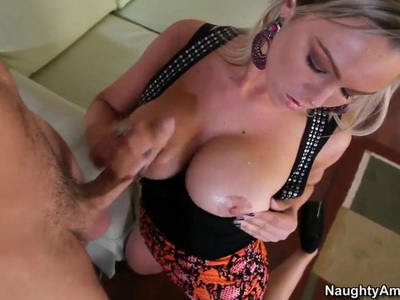Effective blonde Abbey Brooks fucking the neighbour