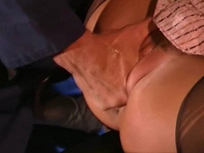 Briana Banks moans as she gets fisted & pounded
