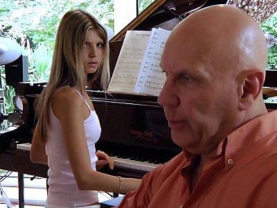 Old man fucking Russian musician