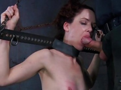 Hotty is getting bizarre torturing for her feet